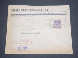 BRÉSIL - Enveloppe Commerciale De Porto Alegre Pour L 'Allemagne En 1939 - L 12961 - Brésil