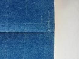 80 * 61  CM   Sailboat Blueprint Bateau Navire  Plans D'ensemble Planobarco - Planes Técnicos
