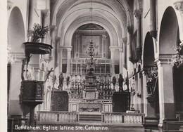 MINI-PHOTO D'éditeur---PALESTINE---BETHLEHEM--église Latine Saint-catherine--voir 2 Scans - Photographie