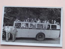 Old Car / Vieux Voiture / Bus / Oude Autobus (voir Photo / Zie Foto's ) ROUTE Des PYRENEES 19?? ! - Automobiles