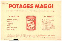 Po Ma/Buvard    Potage Maggi (N= 1) - Sopas & Salsas
