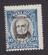 Costa Rica, Scott #83, Mint Hinged, Braullio Carrillo, Issued 1911 - Costa Rica