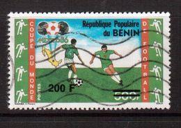 Benin-1995,(Mi.657),Football, Soccer, Fussball,calcio,Used, R - 1986 – Messico