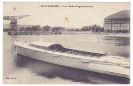Cpa Marignane, La Base D'hydravions - Marignane