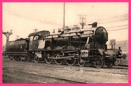 Locomotive Sud Est P.L.M. - Machine 6022 Devenue 6222 Puis 231 C 23 à Surchauffeur Schmidt Compound à 4 Cylindres - Trains