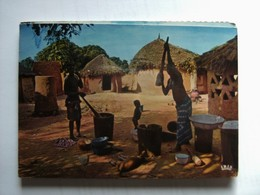 Senegal ? Africa In Pictures Rustic Scene - Senegal