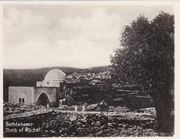 MINI-PHOTO D'éditeur---PALESTINE---BETHLEHEM--tomb Of Rachel--voir 2 Scans - Palestine