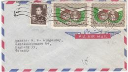 Iran, Airmail Letter Cover Travelled 1959 Teheran Pmk B180205 - Iran