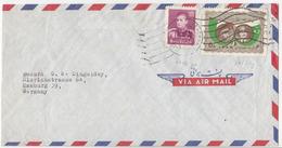 Iran, Esmail Farzan Kashani Airmail Letter Cover Travelled 195? Teheran Pmk B180205 - Iran
