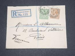 GRANDE BRETAGNE - Enveloppe En Recommandé De Shepherds Bush Pour La France En 1931 - L 12971 - 1902-1951 (Rois)