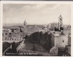 MINI-PHOTO D'éditeur---PALESTINE---BETHLEHEM--façade De La Basilique--voir 2 Scans - Photographie