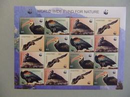 LESOTHO 2004 Proteccion De La Fauna WWF Yvert 1781 / 1784 ** MNH - W.W.F.
