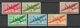 USA 1941 = 6 Values From Set Michel 500 - 506 MNH - United States