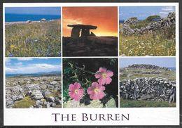 Ireland, Co. Clare, The Burren, Multiview, Unused - Clare