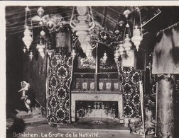 MINI-PHOTO D'éditeur---PALESTINE---BETHLEHEM--la Grotte De La Nativité--voir 2 Scans - Palestine