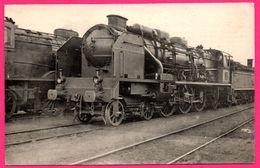 Locomotive Du Sud Ouest Ex P.O. - Machine N° 231 H 725  à Surchauffeur Houlet Compound 4 Cylindres - Tours - L. VILAIN - Trains