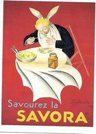 Carte Publicitaire / SAVORA / CAPPIELLO Leonetto / Lithopgraphie / Musée De La Publicité - Publicité