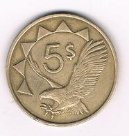 5 DOLLAR 1993 NAMIBIE /596G/ - Namibia