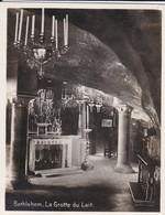 MINI-PHOTO D'éditeur---PALESTINE---BETHLEHEM--la Grotte Du Lait--voir 2 Scans - Palestine