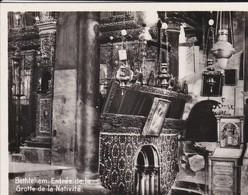 MINI-PHOTO D'éditeur---PALESTINE---BETHLEHEM--entrée De La Grotte De La Nativité--voir 2 Scans - Photographie