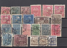 11569-LOTTICINO DI N°. 22 FRANCOBOLLI PERFIN - USATI - AUSTRIA - Österreich