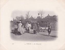 DAKAR. AU VILLAGE NOIR.-SENEGAL-TBE-BLEUP ETHNIC PEOPLE - Senegal