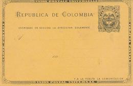 COLOMBIA - Tarjeta Postal , Post Card - Colombia