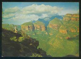 *The Three Rondavels...* Ed. Art Publishers. Circulada, Airport Jan Smutslughawe 30-12-1999. - África Del Sur (1961-...)