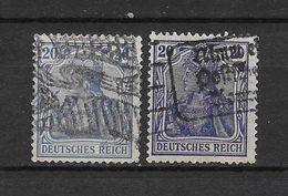 LOTE 1619  ///  ALEMANIA IMPERIO     YVERT Nº:  85  CON FECHADORES ESPECIALES - Alemania