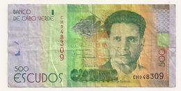 500 ESCUDOS CAP VERT - Cape Verde