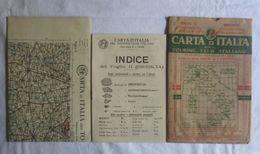 BRESCIA, Foglio 11, CARTA D'ITALIA, TOURING CLUB ITALIANO, Inizi '900, Scala 1:250.000 - Carte Geographique