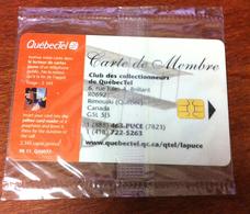 CANADA CARTE TÉLÉPHONIQUE LAPUCE QUÉBECTEL AVION PHONECARD NEUVE CARD 50C QUEBEC POUR COLLECTION - Canada
