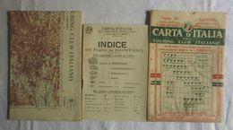 ORISTANO, Foglio 39, CARTA D'ITALIA, TOURING CLUB ITALIANO, Inizi '900, Scala 1:250.000 - Carte Geographique