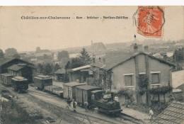 H36 - 01 - CHATILLON-SUR-CHALARONNE - Ain - Gare - Intérieur - Marlieux-Châtillon - Train - Châtillon-sur-Chalaronne