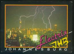Johannesburg. *Summertime...* Ed. Art Publishers Nº 567. Circulada, Airport Jan Smutslughawe 25-IV-1991. - África Del Sur (1961-...)