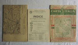 VERONA, Foglio 12, CARTA D'ITALIA, TOURING CLUB ITALIANO, Inizi '900, Scala 1:250.000 - Carte Geographique