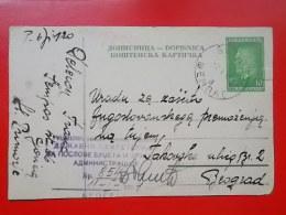 Kov 1115 - CARTE POSTALE, DOPISNICA, YUGOSLAVIA, SEMPAS - Covers & Documents