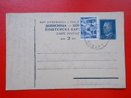 Kov 1115 - CARTE POSTALE, DOPISNICA, YUGOSLAVIA, ZADAR - Covers & Documents