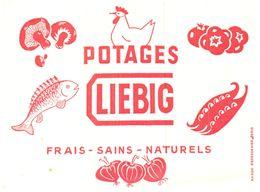 PO L/Buvard Potage Liebig  (N= 3) - Potages & Sauces