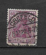 LOTE 1619  ///  ALEMANIA IMPERIO     YVERT Nº:  90    CON FECHADOR DE CREFELD - Alemania
