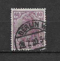 LOTE 1619  ///  ALEMANIA IMPERIO     YVERT Nº:  90    CON FECHADOR DE BERLIN - Alemania