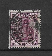 LOTE 1619  ///  ALEMANIA IMPERIO     YVERT Nº:  90    CON FECHADOR DE HAMBURG - Alemania
