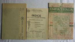 SAN SEVERO, Foglio 30, CARTA D'ITALIA, TOURING CLUB ITALIANO, Inizi '900, Scala 1:250.000 - Carte Geographique
