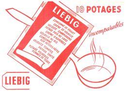 PO L/Buvard Potage Liebig  (N= 5) - Potages & Sauces