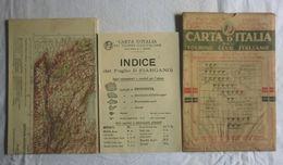 GARGANO, Foglio 31, CARTA D'ITALIA, TOURING CLUB ITALIANO, Inizi '900, Scala 1:250.000 - Carte Geographique