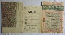 BERGAMO, Foglio 4, CARTA D'ITALIA, TOURING CLUB ITALIANO, Inizi '900, Scala 1:250.000 - Carte Geographique