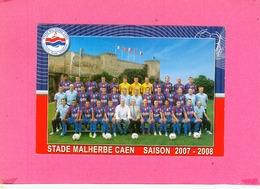 CP.  14.  CAEN.  STADE  MALHERBE  CAEN  SAISON  2007/ 2008.  FOOTBALL - Caen