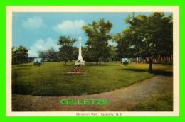 SACKVILLE, NEW BRUNSWICK - MEMORIAL PARK - PECO - - Nouveau-Brunswick