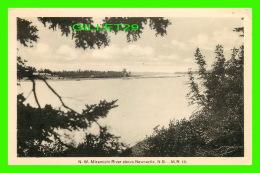 NEWCASTLE, NEW BRUNSWICK - NORTH WEST MIRAMICHI RIVER - M. R. - TRAVEL IN 1939 - H.V. HENDERSON - - Nouveau-Brunswick