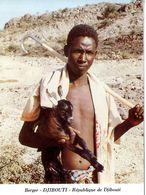 DJIBOUTI  BERGER   -  CARTE DOUBLE VOLET - Djibouti